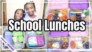 🍎BACK TO SCHOOL 2019 ✏️ 🎒 SCHOOL LUNCHES