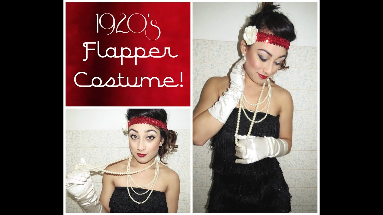 1c06e7d4fb2c DIY 1920u0027S Flapper Costume Tutorial | Simply Just Rebekah Sc 1 St  YouTube