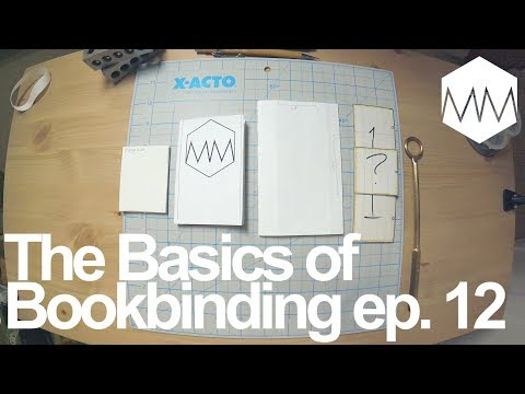 ▲ Making a Book Dummy to Remember Binds // Bookbinding Basics ep. 12