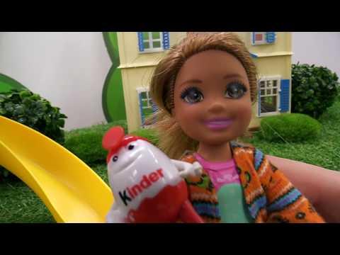 Видео куклы - Леди Баг и гигантский киндер-сюрприз