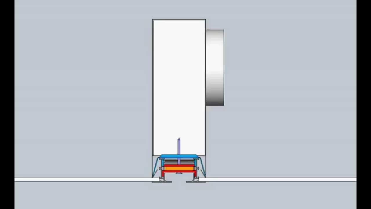 Krueger Linear Diffuser : Krueger model dfl designflo frame ff concealed