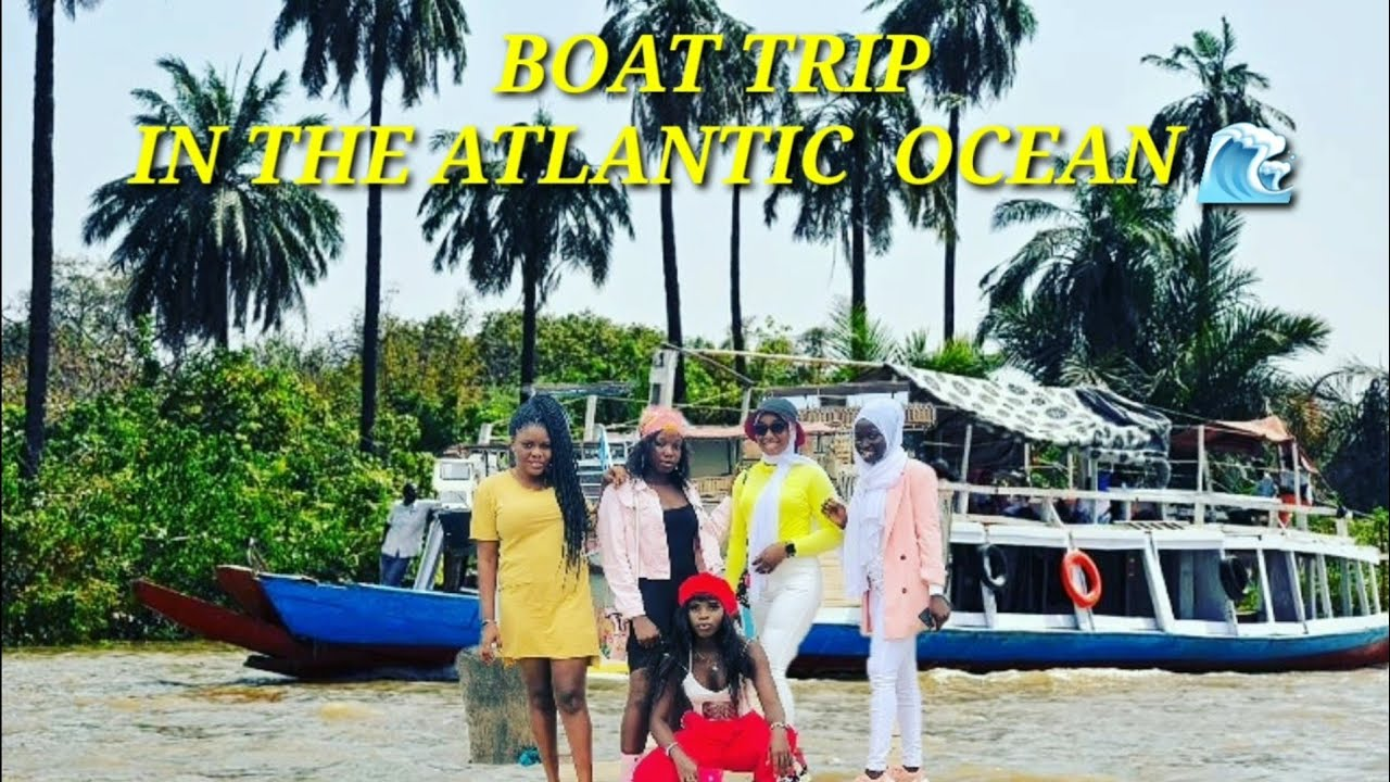 Boat Trip In The Atlantic Ocean - The Beauty Of The Gambia