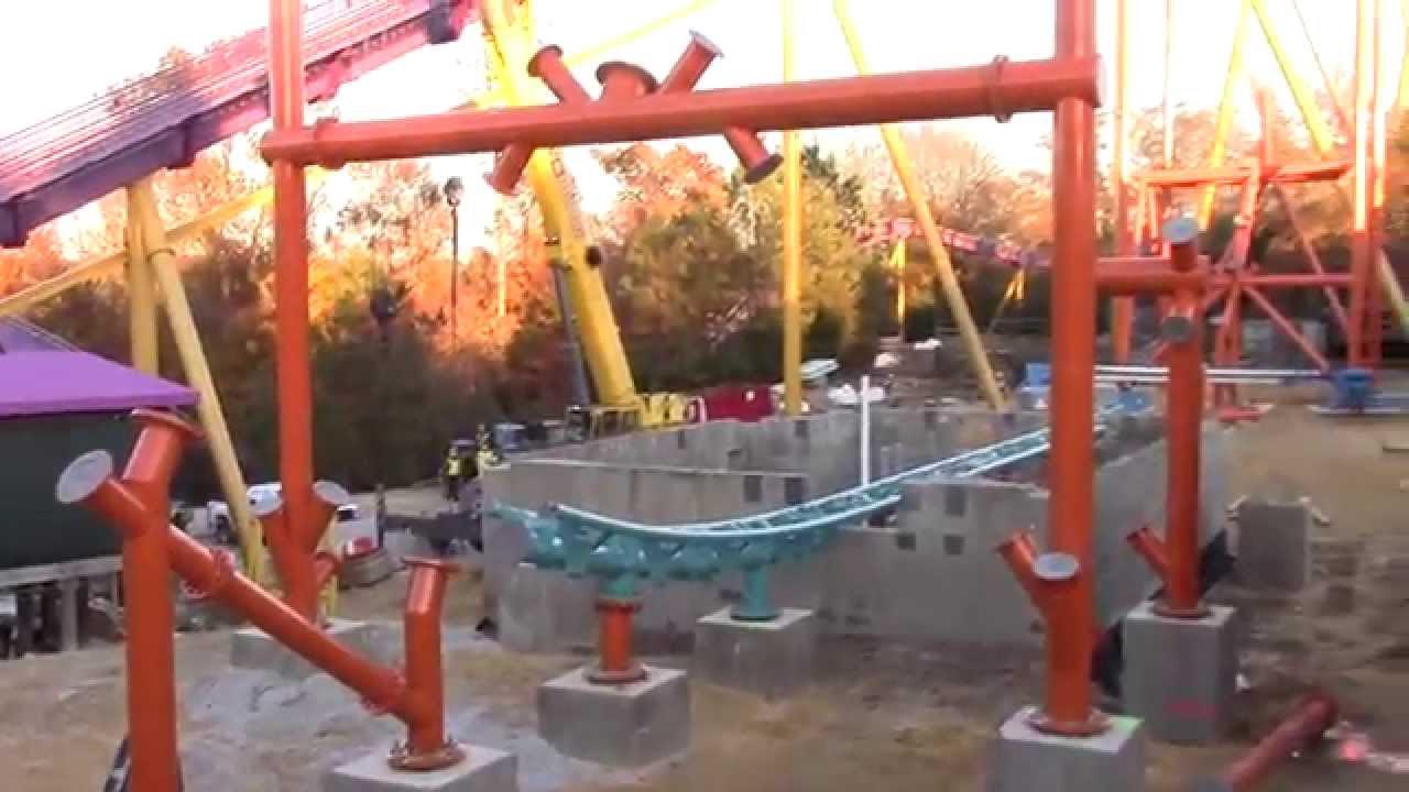 Tempesto Construction Update 11 21 2014 Busch Gardens