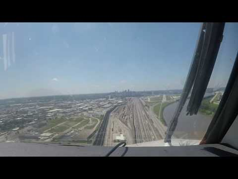 King Air C90A Kansas City downtown airport(ATC audio)
