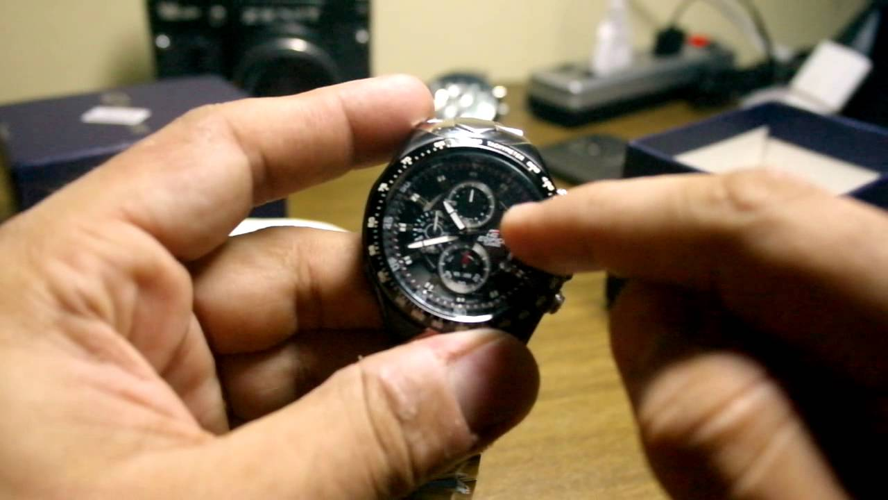 Video Review Casio Edifice Ef 534d 1av 534d From Priceangels Youtube