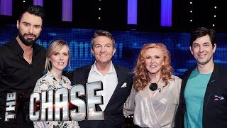 The Celebrity Chase ft Rylan Clark-Neal | Behind The Scenes