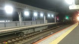 近鉄 「つどい」ビール列車 東花園駅入線&すれ違い