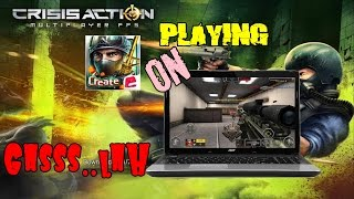 SETTING GAME CRISIS ACTION DI LAPTOP | NOX EMULATOR #2