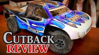 Tower Hobbies CutBack Review - Brushless 4WD Short Course RC Truck - TheRcSaylors