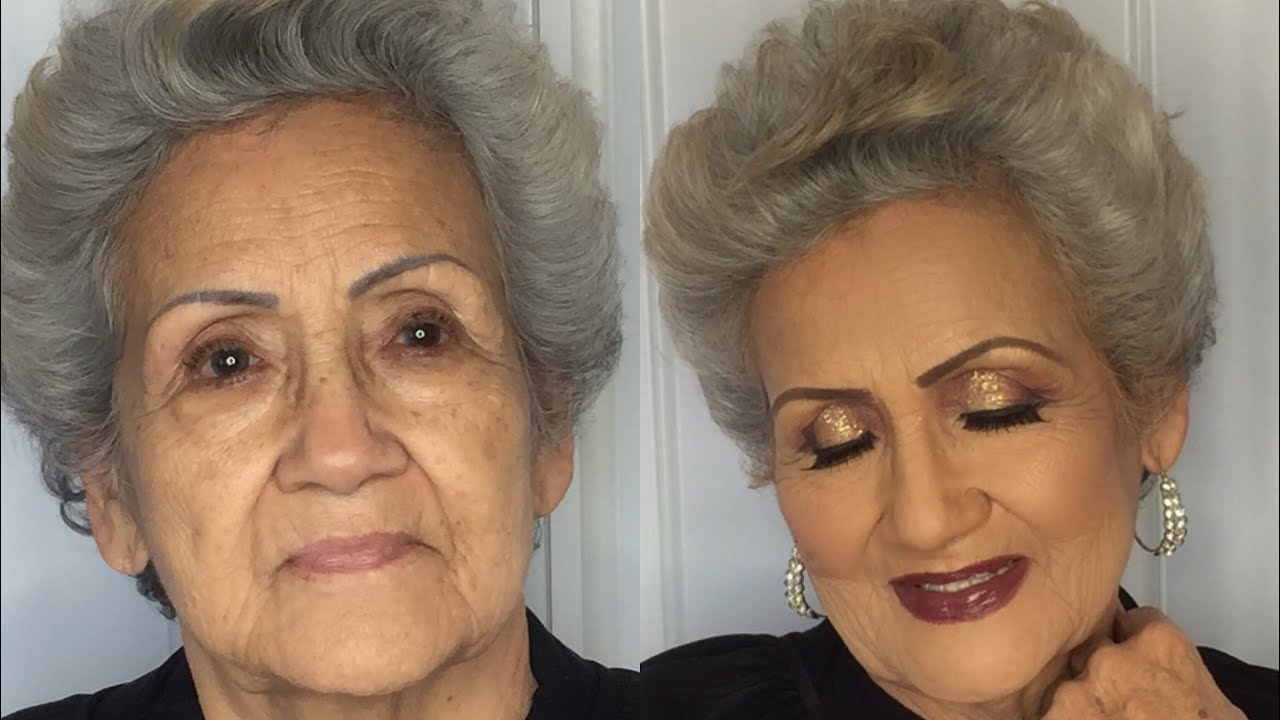 Image result for elderly makeup