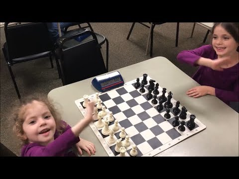 Is 4 Year Old vs. 6 Year Old The Cutest Chess Game In The World? Mickeys vs. Dada  