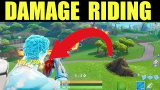 Deal damage to opponents while riding in a vehicle (Solo) Fortnite Week 7 Season 9 challenges