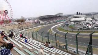 2013 2&4にて スタートペナルティとか排気系が壊れたり散々なレースだ...