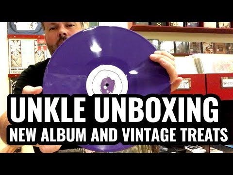 UNKLE The Road PT.1 unboxing