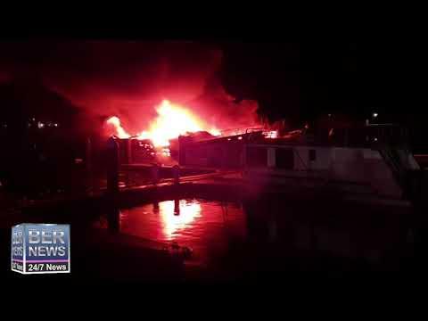 #1 | Boat Fire in Dockyard, January 12 2020