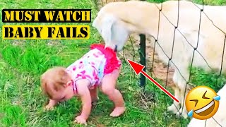 TRY NOT TO LAUGH - Funny Baby Fails 2020|Funny Fails