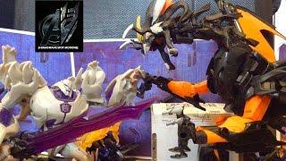 Transformers Prime Legacy Ep 22[Season 2 Finale][Megatron vs Predaking] Stop Motion