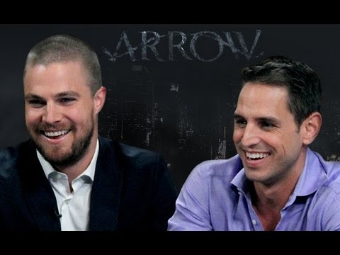 Arrow: Stephen Amell and Greg Berlanti Interview | Larry King Now | Ora TV