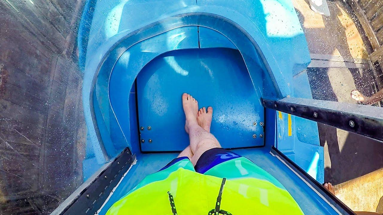 yas waterworld abu dhabi liwa loop aqualoop trapdoor