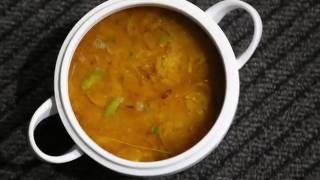 ডাল রান্না ॥ পাতলা ডাল রেসিপি ॥ Simple Daal Recipe ॥ Masoor Daal ॥ Plain Daal || R# 35