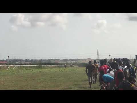 Best Horse Race In Ghana.Meet Diva