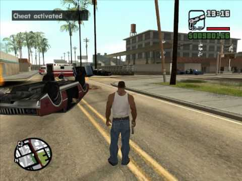 GTA: San Andreas - Rapid Fire Weapons