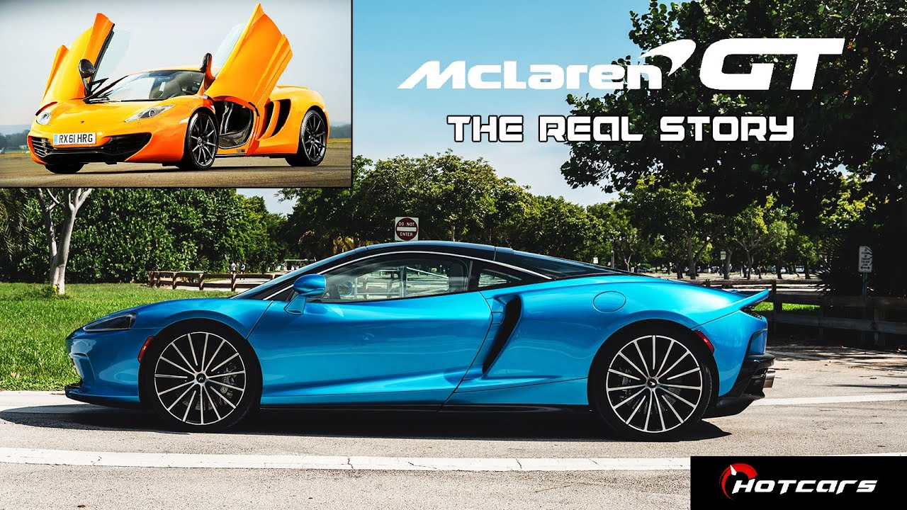 The Real Story Behind The 2020 McLaren GT, The Most Comfortable Supercar