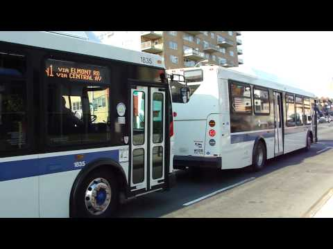 Long Island Bus : Orion VII Next Generation CNGs 1826 & 1835 On The N22A & N1 @ Hillside Avenue