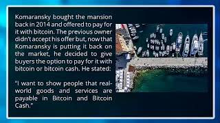 www.qlistings.com | Miami Homeowner Accepts Bitcoin and Bitcoin Cash for $6.5 Million Mansion