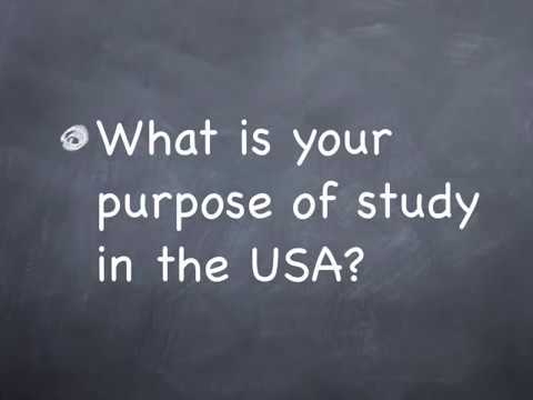 Prepare for Student Visa Interview Answers F1 Visa and common with other Countries