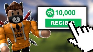 HOW TO WIN ROBUX FREE in ROBLOX 2019