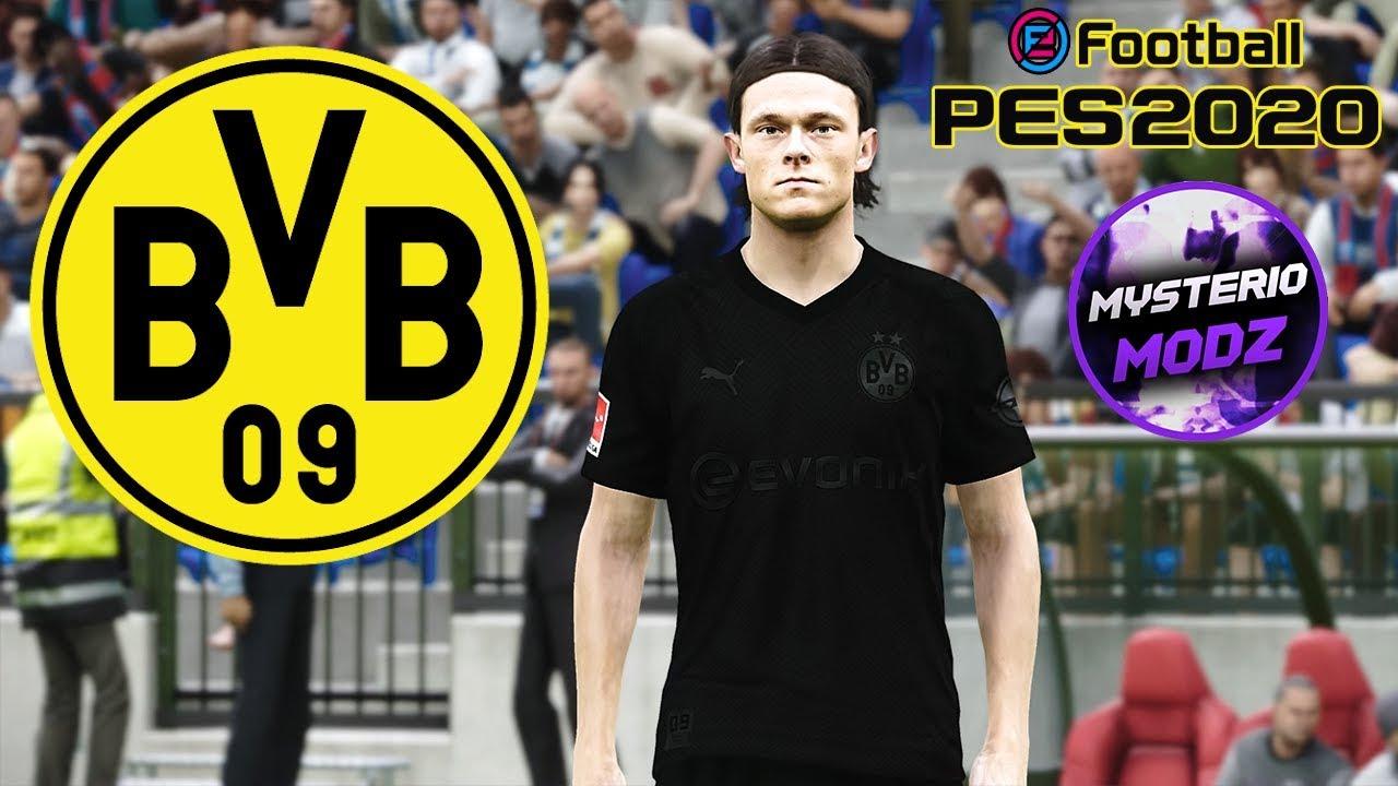 Download 110th Anniversary Kit Borussia Dortmund 2020 Efootball Pes 2020 Ps4 Pc Youtube