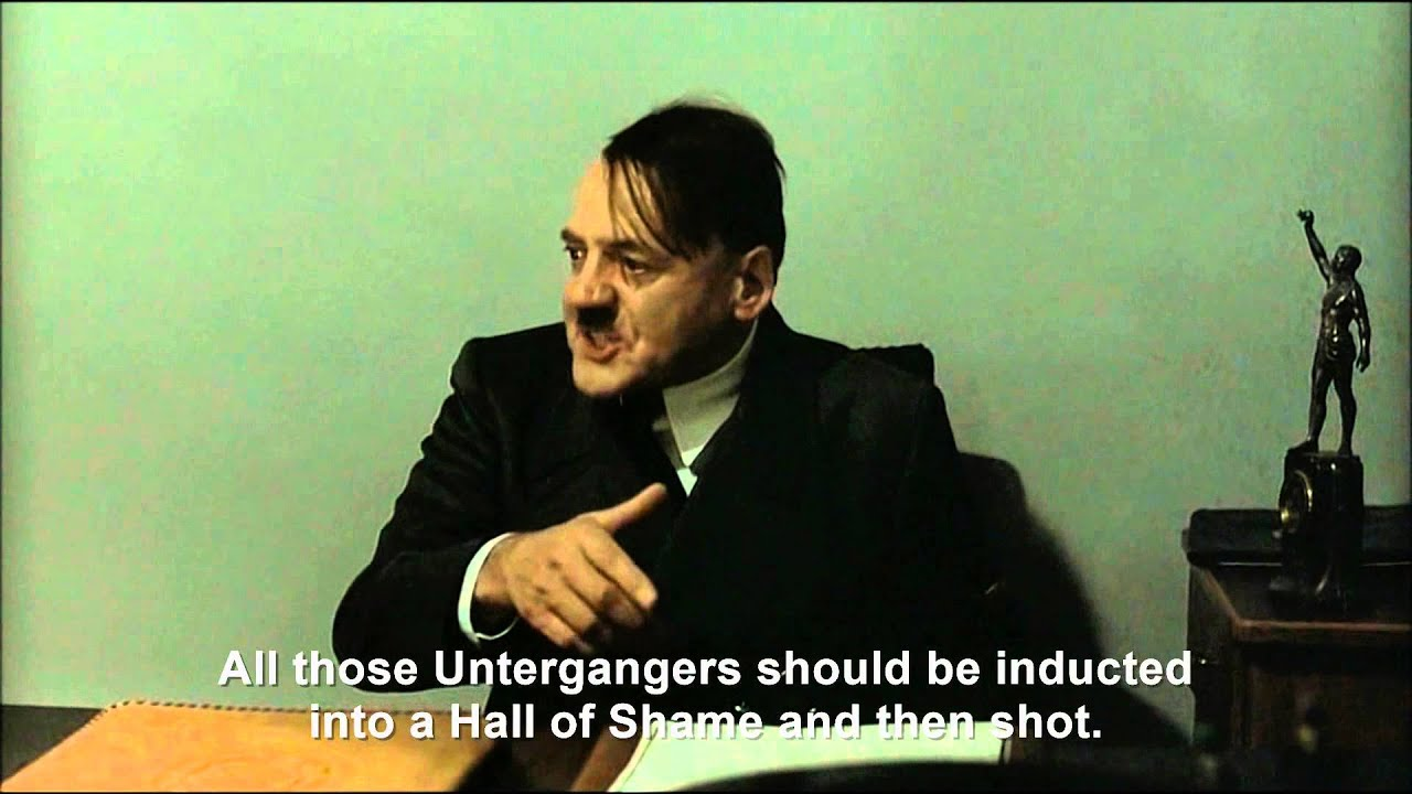 Hitler is informed about the Unterganger Hall of Shame