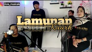 Lamunan (kawih) | cover | Diora Musicale ||