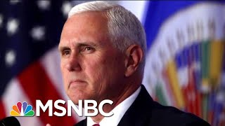 Mike Pence Makes Moves, And Some In GOP Aren't Happy | Morning Joe | MSNBC thumbnail