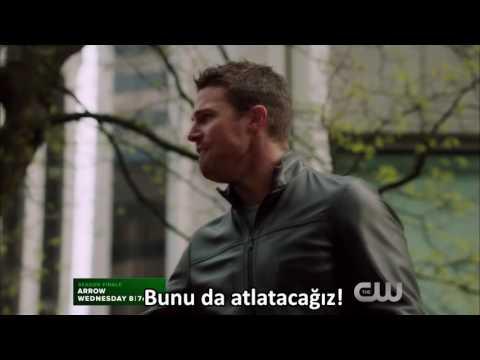 Remix Arrow 4x23 Sezon Finali Schism Parçalanış Türkçe