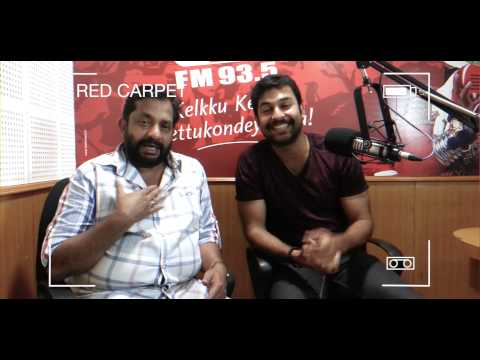 Jishnu and Sundar Das in RED CARPET with rj Mathukkutty!!!