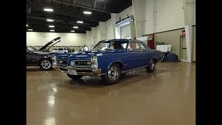 1966 Pontiac GTO Sport Coupe in Blue & 389 Engine Sound on My Car Story with Lou Costabile