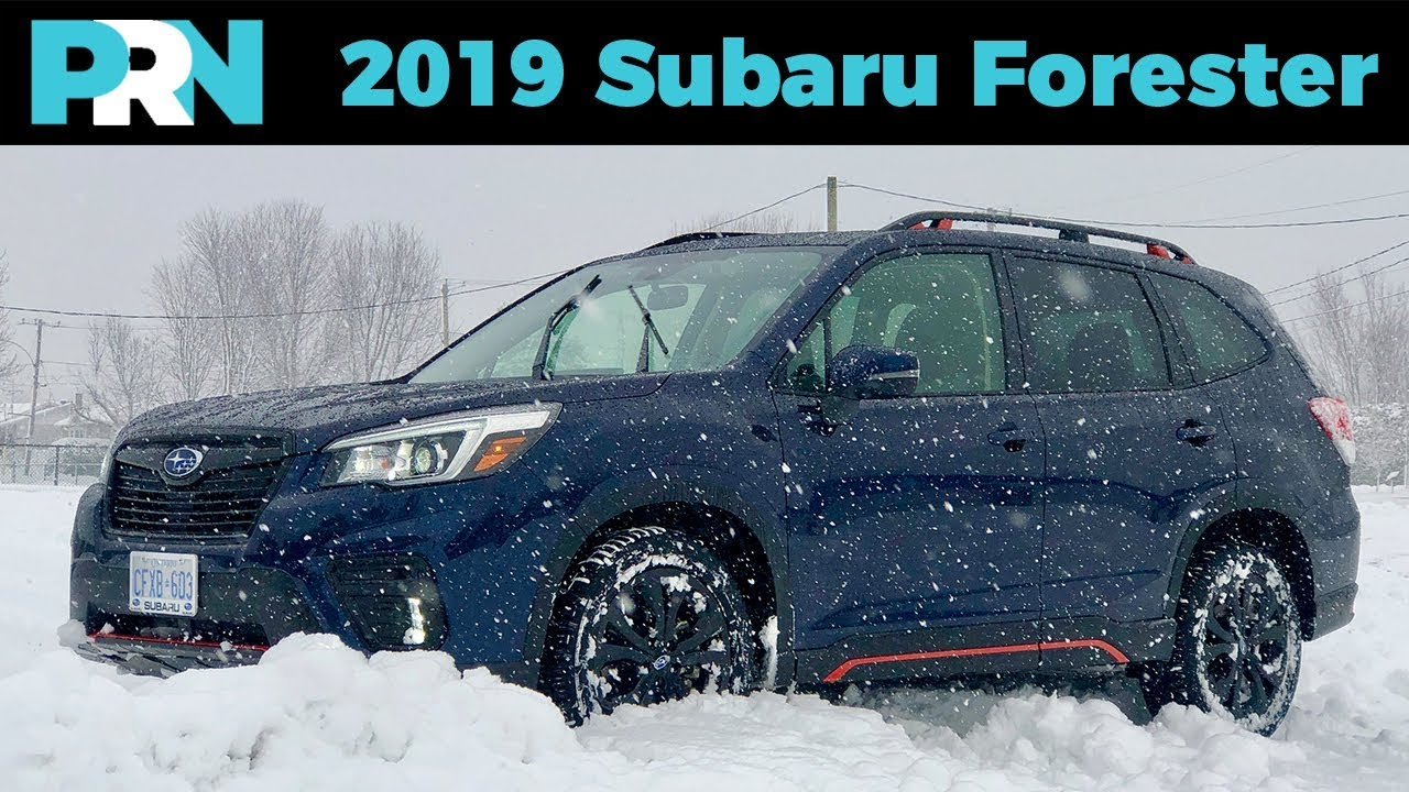 2019 Subaru Forester Sport The Ultimate Winter Warrior