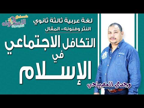 لغة عربية ثانوية عامة - أ/ وجدي المصيلحي