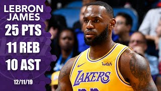 LeBron James notches sixth triple-double of season in Lakers vs. Magic | 2019-20 NBA Highlights