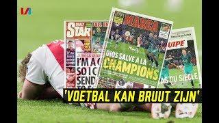 Internationale Media Over Ajax: 'We Zijn Verliefd Geworden'