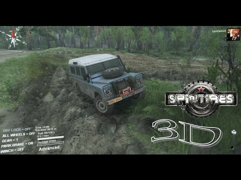 "Spintires ""Coast"" Series III Land Rover 3D"