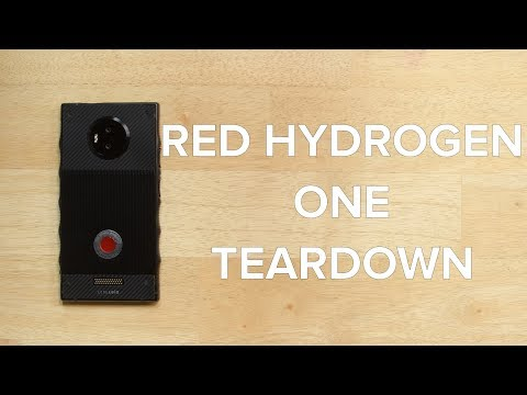RED Hydrogen One Teardown!