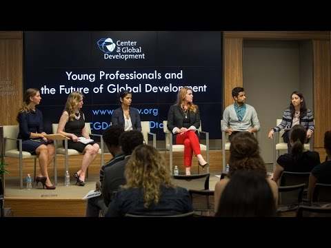 Panel Discussion | Young Professionals and the Future of Global Development