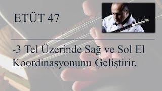 Mehmet KINIK - Uzun Sap Bağlama 2-3 Telde Parmak Egzersizleri (Etüt 47)