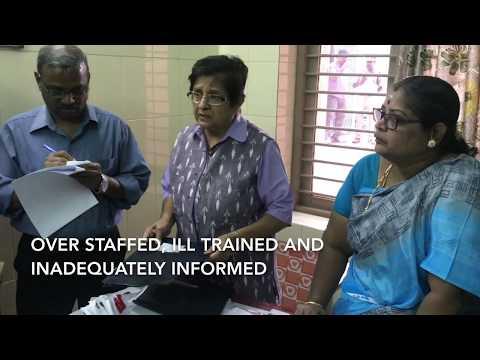 Dr. Kiran Bedi checks the Observation Home in Puducherry
