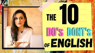 Download Mp3 The Strict 10 Do's And Dont's Of English