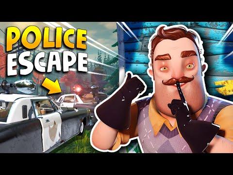 The Neighbor ESCAPED THE POLICE!!! (New Cutscene) | Hello Neighbor 2 News