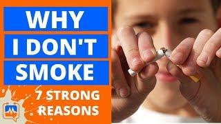 Video 7 Reasons Why I DON'T Smoke Cigarettes (Cigarette Smoking Effects) download MP3, 3GP, MP4, WEBM, AVI, FLV November 2017